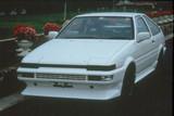 CS771TFL - Charge Speed 1986-1987 Toyota Corolla HB Trueno Flip Light AE-86 Front Lip