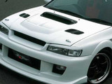 CS976CS1C - Charge Speed 1995-2001 Subaru Impreza WRX GC-8 Carbon Center Hood Air Duct