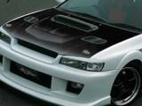 CS976HCV - Charge Speed 1995-2001 Subaru Impreza WRX GC-8 Carbon Vented Hood