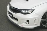 CS973FL2C - Charge Speed 2011-2014 Subaru WRX STi & Non-STi Hatchback/ 4Doors Sedan Bottom Line Type-2 Front Lip Carbon