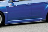 CS979SS2C - Charge Speed 2008-2014 Subaru WRX STi GR Hatchback/ GV Sedan Bottom Lines Type-2 Carbon Side Skirts