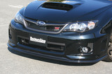 CS971FL1C - Charge Speed 2011-2014 Subaru WRX STi & Non-STi Hatchback/ 4Doors Sedan Bottom Line Type-1 Front Lip Carbon