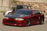 CS704FKW - Charge Speed 1995-1996 Nissan 240SX S-14 Zenki Wide Body Full Kit