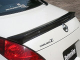 CS722RWC - Charge Speed 2003-2008 Nissan 350Z Rear Spoiler Carbon