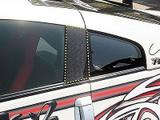 CS722DPC - Charge Speed 2003-2008 Nissan 350Z Door/ Center Pilar Cover Carbon