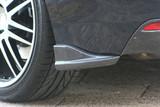CS979RC1C - Charge Speed 2008-2014 Subaru WRX STi GR-B 5 Doors Hatchback Bottom Lines Carbon Rear Caps