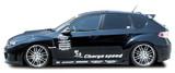 CS979SS - Charge Speed 2008-2014 Subaru WRX STi GR Hatchback/ GV Sedan Side Skirts