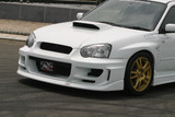 CS977FB1 - Charge Speed 2004-2005 Subaru Impreza GD-B Peanut Eye Type-1 Front Bumper