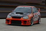 CS977FBS - Charge Speed 2004-2005 Subaru Impreza GD-B Peanut Eye Type-2 Front Bumper With Straight Carbon Center