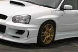 CS977FFD - Charge Speed 2004-2005 Subaru Impreza GD-B D-1 Front Fenders With Duct
