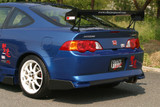 CS207BFC - Charge Speed 2002-2004 Acura RSX DC-5 Carbon Side Fin For Type-2 Rear Bumper