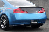 CS695RCC - Charge Speed 2003-2007 Infiniti G-35 Coupe Bottom Line Rear Caps Carbon