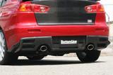 CS427RDC - Charge Speed 2008-2017 Mitsubishi Lancer Evo X OEM Rear Bumper Diffuser Carbon