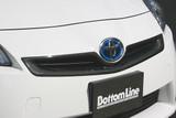 CS820GRCC - Charge Speed 2010-2011 Toyota Prius Zenki XW30 Front Grill Cowl Carbon