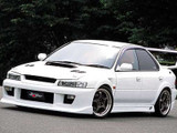 CS976FKW - Charge Speed 1995-2001 Subaru Impreza All Sedan GC-8 Full Kit With Front and Rear Over Fenders