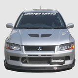 CS423FLF - Charge Speed 2002 Mitsubishi Lancer Evo VII Bottom Line Front Lip FRP JDM FIT ONLY