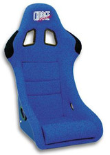HC03O - Charge Speed Bucket Racing Seat Original Design Logo Shark Type Carbon Blue PAIR