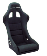 HC01 - Charge Speed Bucket Racing Seat Shark Type Carbon Black