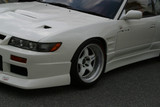 CS703FF - Charge Speed 1989-1994 Nissan 240SX JDM Silvia D-1 Style 20mm Widebody Front Fenders