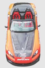 CS330HFV - Charge Speed 2000-2009 Honda S2000 AP-/21 Vented FRP Hood