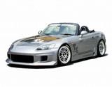 CS330HC - Charge Speed 2000-2009 Honda S2000 AP-1/2 OEM Carbon Hood