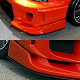 CS975UC - Charge Speed 2006-2007 Subaru WRX Carbon Under Plate for Type-2 Front Bumper