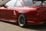 CS704FR2 - Charge Speed 1995-1998 Nissan 240SX S-14 Zenki/ Kouki Rear Wide Fender 50MM Wide