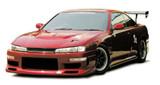 CS705FKW - Charge Speed 1997-1998 Nissan 240SX S-14 Kouki Wide Body Full Kit