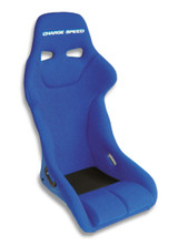 GK03 - Charge Speed Bucket Racing Seat Genoa Type Kevlar Blue