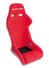 GK02 - Charge Speed Bucket Racing Seat Genoa Type Kevlar Red