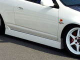 CS207SS1 - Charge Speed 2002-2006 Acura RSX DC-5 Type-1 Side Skirts