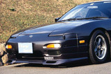 CS702FLM1 - Charge Speed 1989-1994 Nissan 240SX RPS-13 Flip Light Middle Term Type-1 Front Spoiler