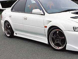 CS976SS2 - Charge Speed 1995-2001 Subaru Impreza Type-2 GC-8 Side Skirts