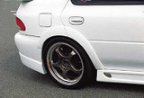 CS976OFR - Charge Speed 1995-2001 Subaru Impreza GC-8 4Dr. D-1 Rear Over Fenders