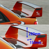 CS978WRC1 - Charge Speed 2002-2007 Subaru WRX WR Wing FRP Base with Carbon Top