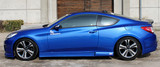 CS996SS - Charge Speed 2009-2012 Hyundai Genesis Coupe Side Skirts