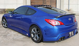 CS996RB - Charge Speed 2009-2012 Hyundai Genesis Coupe Rear Bumper