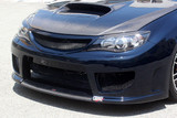 CS979FFCC - Charge Speed 2008-2014 Subaru WRX STi GR-B Hatchback/ GV Sedan Air Dam Finisher Cowl For Type-1 Front Bumper Carbon