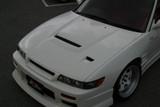 CS703HFV - Charge Speed 1989-1994 Nissan 240SX Silvia JDM Vented Hood FRP