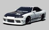 CS707HC - Charge Speed 1999-2005 Nissan 240SX S-15 OEM Carbon Hood
