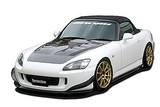 CS331FLKC - Charge Speed 2005-2009 Honda S2000 AP-2 Bottom Line Full Lip Kit Carbon