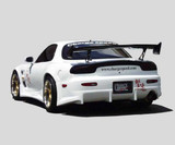 CS710RBW - Charge Speed 1993-2004 Mazda RX7 Wide Rear Bumper