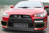 CS427SDCC - Charge Speed 2008-2017 Mitsubishi Lancer Evo X Side Duct Cowl Carbon