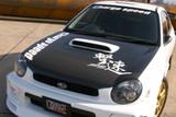 CS978HC - Charge Speed 2002-2003 Subaru Impreza WRX GD-B Zenki OEM Carbon Hood