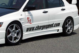 CS424SS - Charge Speed 2002-2007 Mitsubishi Lancer Evo VII, VIII & IX Side Skirts