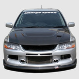 CS425FLF - Charge Speed 2006-2007 Mitsubishi Lancer Evo IX Bottom Line Front Lip FRP