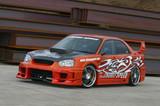 CS977FKDW - Charge Speed 2004-2005 Subaru Impreza GD-B Peanut Eye Super GT Wide Body Kit Full Kit With 3D CARBON