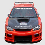 CS975FKW - Charge Speed 2006-2007 Subaru Impreza GD-F New Eye Wide Body Full Bumper Kit With 3-D Carbon