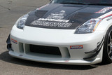 CS722FB - Charge Speed 2003-2008 Nissan 350Z Long Nose Front Bumper