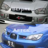 CS977FEL - Charge Speed 2004-2005 Subaru Impreza GD-B Chuki Peanut Eye Model Face Lift Kit to 2006-2007